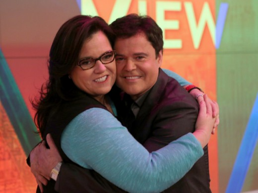 ROSIE O'DONNELL, DONNIE OSMOND
