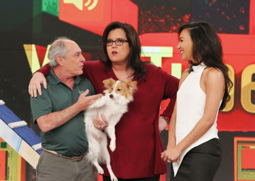 TELLER THE DOG, TRAINER, ROSIE O'DONNELL, NAYA RIVERA