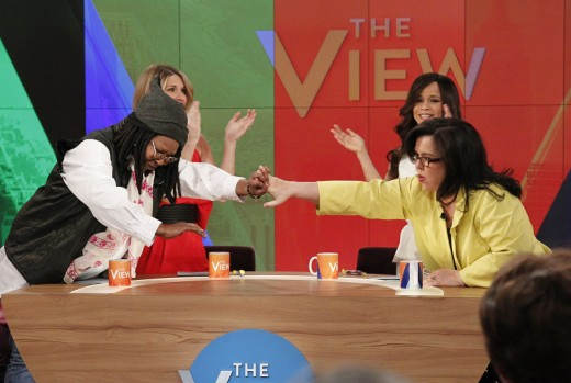 WHOOPI GOLDBERG, NICOLLE WALLACE, ROSIE O'DONNELL, ROSIE PEREZ
