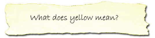 what does the color yellow mean copy